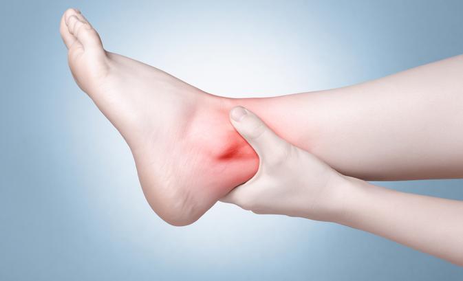 fájdalom a boka sérülés után