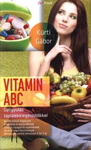 mit kell inni vitamint ízületi fájdalmakhoz