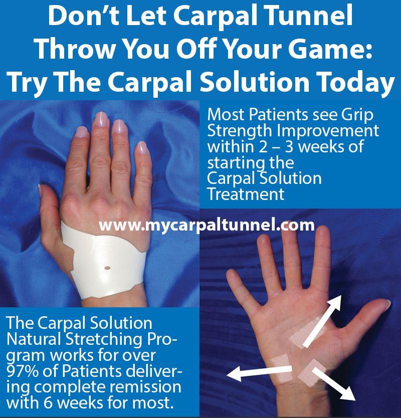 Kéztőalagút szindróma kezelése a zsibbadás okának megszüntetésével