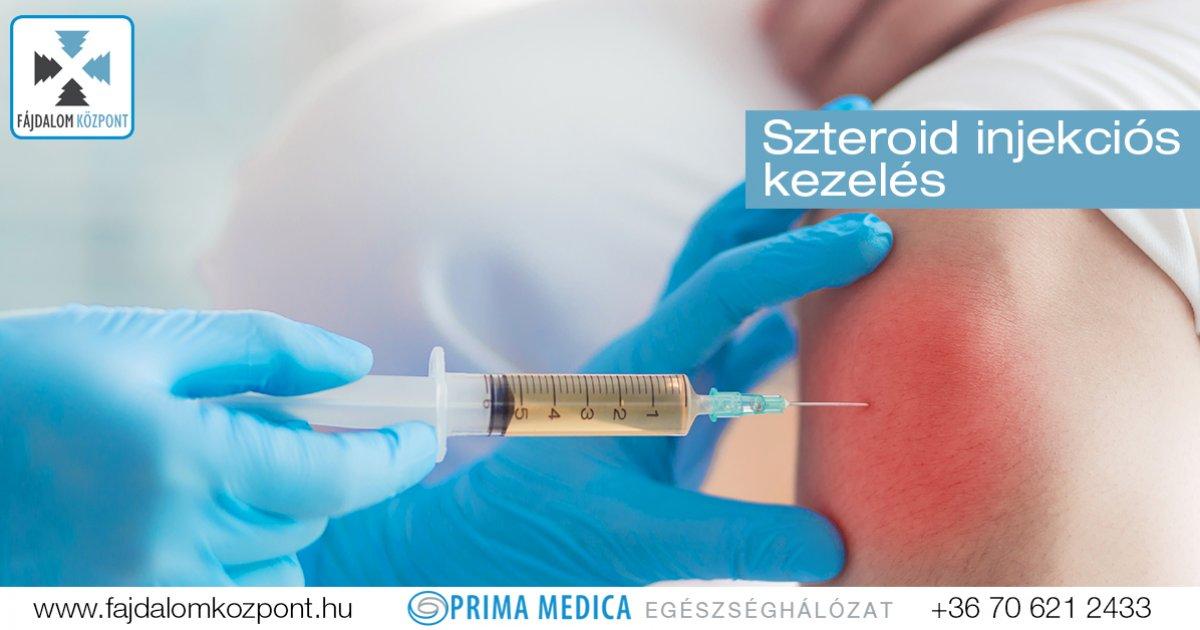 milyen injekciót kapnak ízületi fájdalmak esetén