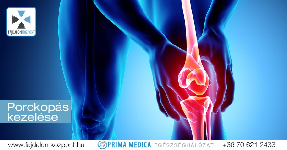 hatékony ízületi kezelés térdpadló artrózis kezelésére