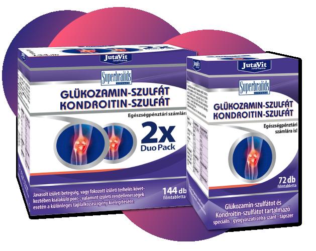 glükozamin és kondroitin ízületi betegségek kezelésére