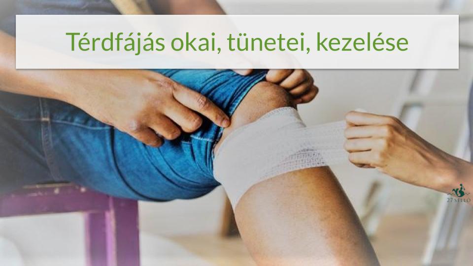 hogyan lehet megszabadulni a térdízületi fájdalmaktól