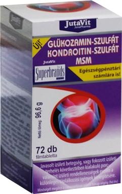 glükózamin kenőcs és kondroitin