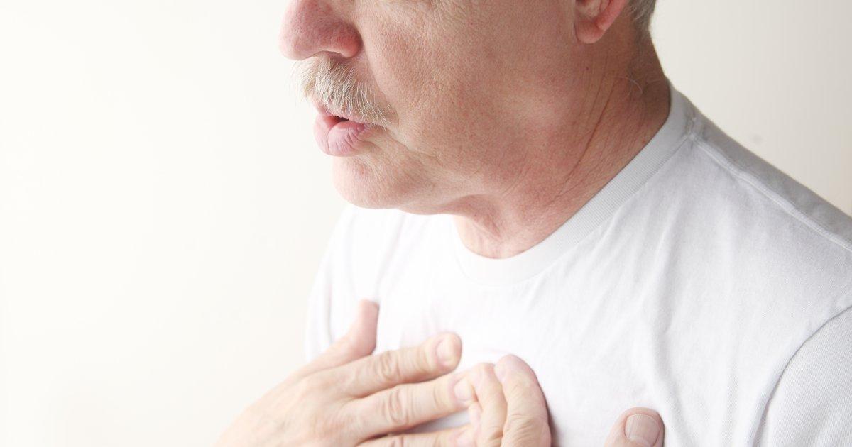 Fájdalom a mellkasban: mikor okozza ízületi gyulladás?