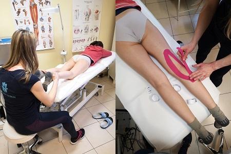 Kinezió tapasz az ízületi fájdalom kezelésére